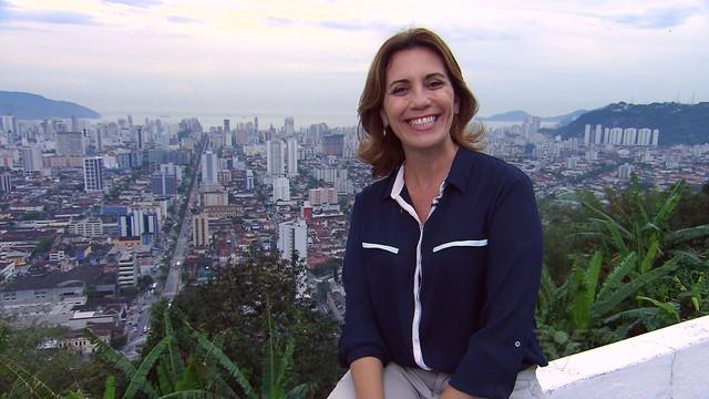 Rosana Valle - Falha Nossa - Rota do Sol (Foto: Reprodução/TV Tribuna)
