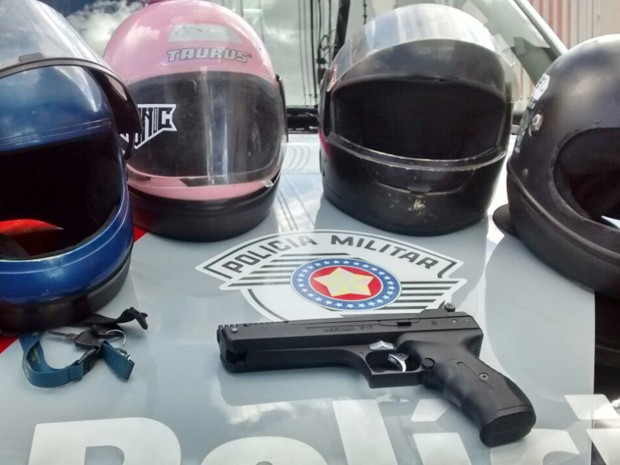 Homem cometia assaltos em comércios de Presidente Prudente (Foto: Polícia Militar/Divulgação)