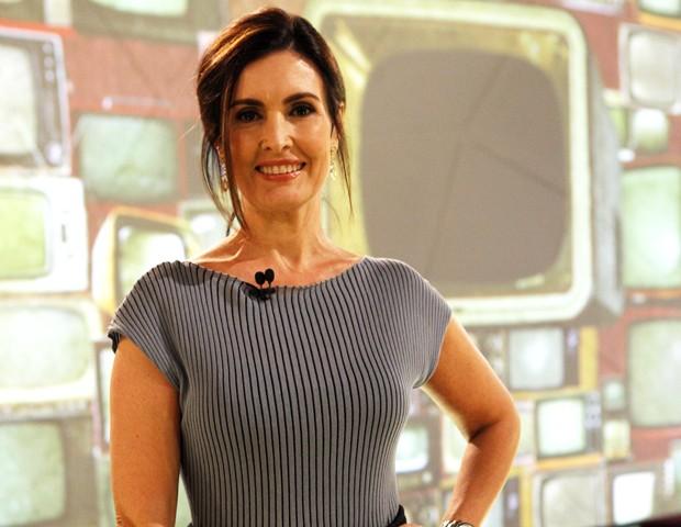 Fátima Bernardes estreia com papo sobre adoção (Foto: Encontro com Fátima Bernardes/ TV Globo)