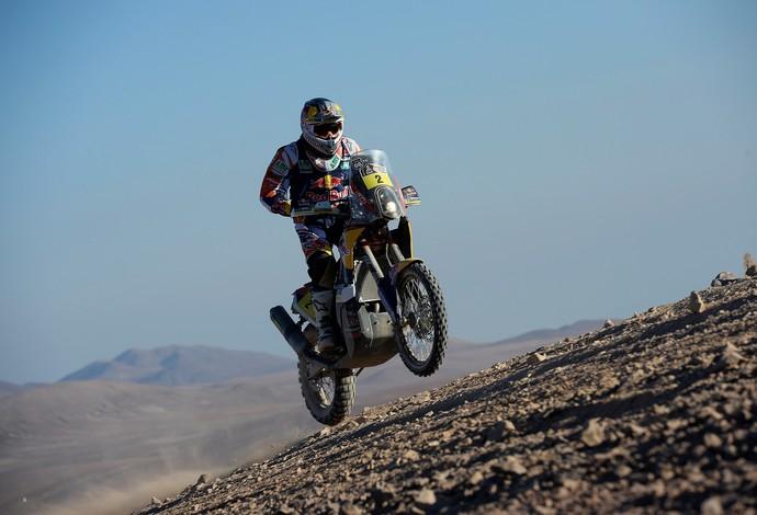 Entre as motos, Marc Coma vence o Dakar 2014  (Foto: Gigi Soldano/DPPI)