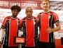 Joinville apresenta três reforços para  a Série B: Barbio, Reginaldo e Bertotto