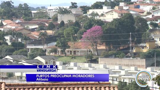 Número de furtos aumentou 15% no primeiro trimestre deste ano em Atibaia