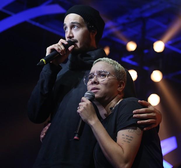 Tiago Iorc e Maria Gadú (Foto: Anderson Borde / AgNews)