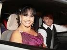 Famosos marcam presença no casamento de Bárbara Borges