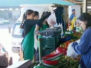 Ceasa de Campinas é responsável por 240 mil refeições por dia (Foto: Reprodução/ EPTV)