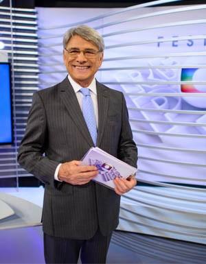 """Sergio Chapelin no """"Festival Globo Repórter"""""""