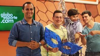 Em ritmo de Carnaval, Central do Piauiense volta ao GloboEsporte.com. Assista (Joana D'arc Cardoso/GloboEsporte.com)