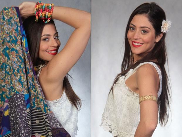 Jacira fica belíssima nos cliques de Pedro Fonseca (Foto: Amor Eterno Amor/TV Globo)