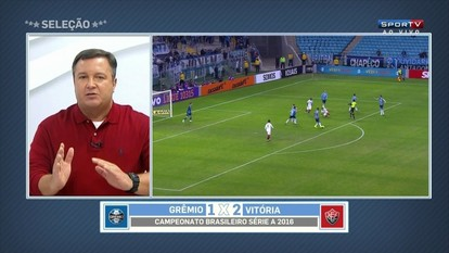 Thiago Mastroiani elogia Vitória contra o Grêmio: