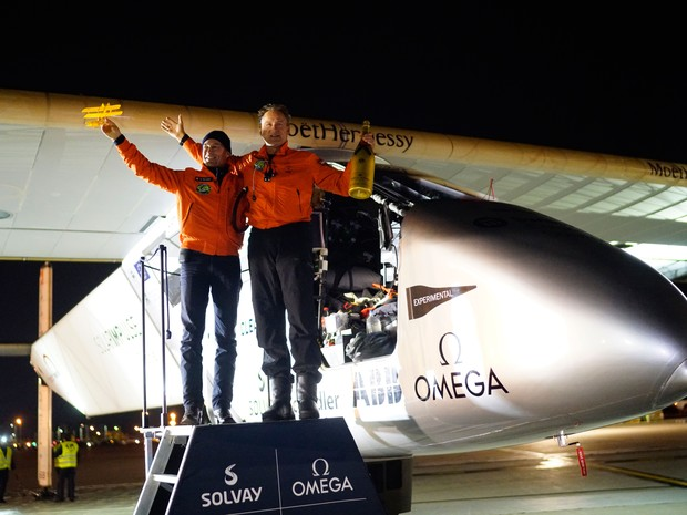 Avião solar (Foto: Reuters)