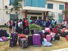 Alunos da UFRR protestam por melhorias em moradia universitária