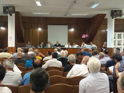 Conselho Santos (Foto: Bruno Giufrida)