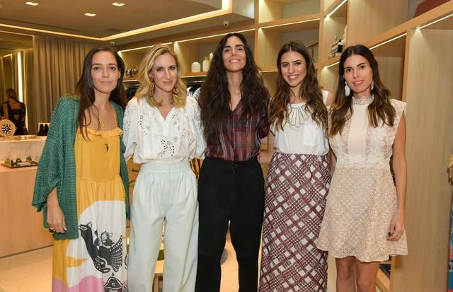 Helena Sicupira, Luiza Ortiz, Mariana Prates, Amanda Cassou e Raquel Correa (Foto: Cleiby Trevisan)