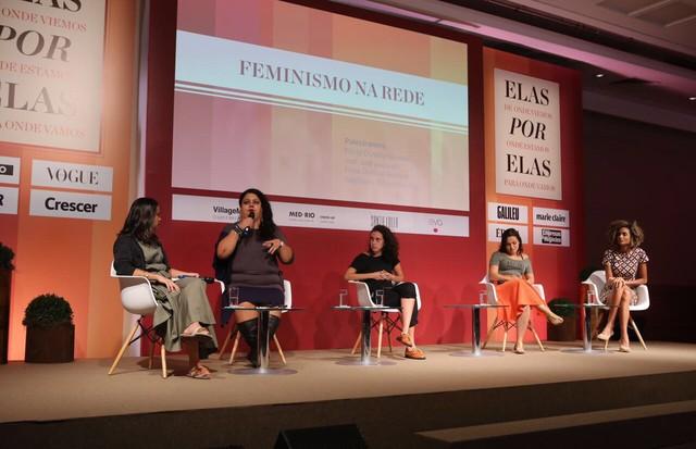 Feminismo na Rede (Foto: Gianne Carvalho)