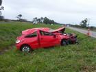 Menina de 4 anos morre após carro capotar na BR-101 no Sul de SC