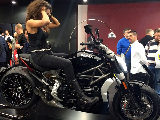 Ducati XDiavel (Foto: Rafael Miotto/G1)