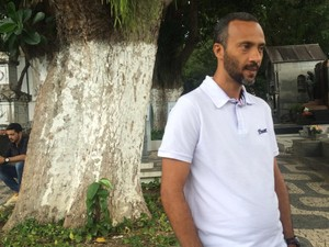 Amigo do estudante, Afonso Leiro (Foto: Henrique Mendes/G1)
