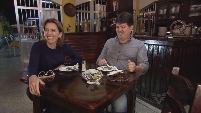 Ostras - Falha Nossa (Foto: Reprodução/TV Tribuna)
