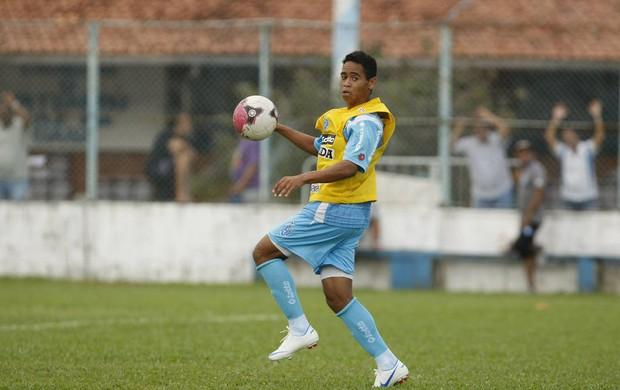 Yago Pikachu já marcou três gols contra o Águia (Foto: Marcelo Seabra/O Liberal)