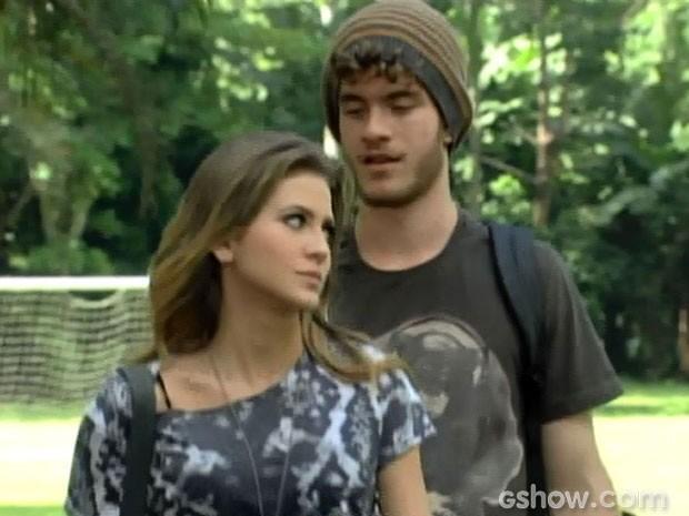 Sidney está caidinho por ela! (Foto: Malhação/ TV Globo)