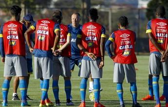 Bruno Rodrigo é poupado do treino, e Romero é dúvida contra o Corinthians