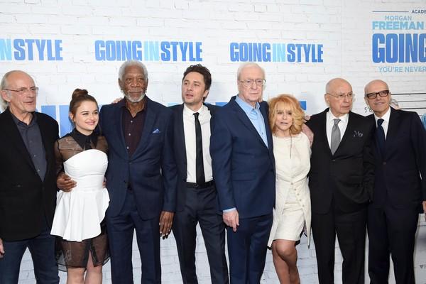 Parte do elenco de Despedida em Grande Estilo (2017) (Foto: Getty Images)