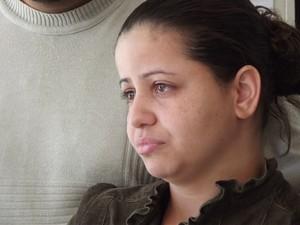 Solange Barreto, tia da vítima, fala sobre a morte do sobrinho (Foto: Heitor Moreira)