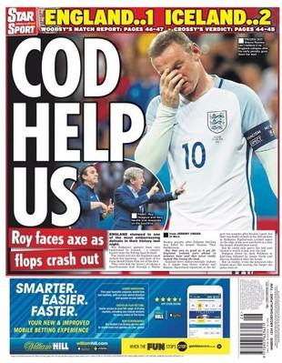 Capa Jornal Inglaterra (Foto: Reprodução)