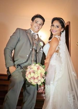 Francisco Barretto é casado com a bailarina do Faustão Carol Oliveira (Foto: Arquivo Pessoal)