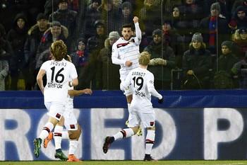 Volland CSKA x Bayer Leverkusen (Foto: AFP)