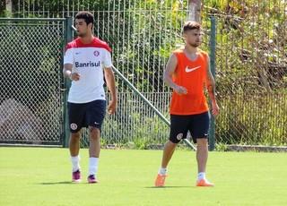 Sasha treina pelo Inter (Foto: Tatiana Lopes/GLOBOESPORTE.COM)