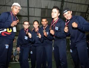 Jogos Abertos 2013 - Kickboxing Mogi das Cruzes (Foto: Divulgação / PMMC)