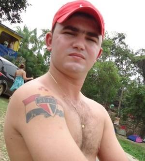 Jordan Araújo, torcedor do São Paulo (Foto: Jordan Araújo/Arquivo Pessoal)