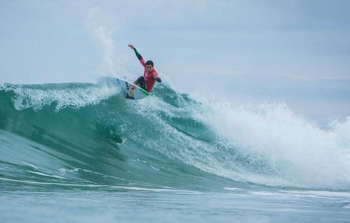 Adriano de Souza Mineirinho repescagem Peniche surfe (Foto: Divulgação/WSL)