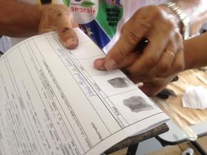 Durante a ação houve a emissaão e Carteira de Identidade  (Foto: Ana Kezia Gomes/G1)
