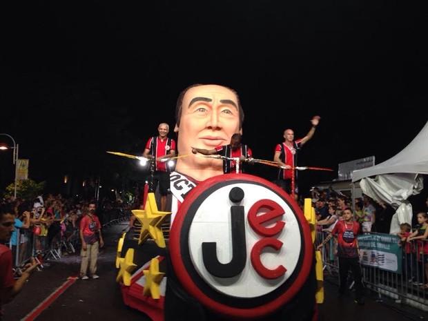 União Tricolor (Foto: Kleber Pizzamiglio/RBS TV)
