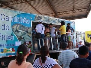 Caminhão do peixe estará em vários pontos de Boa Vista  (Foto: France Telles/Divulgação)