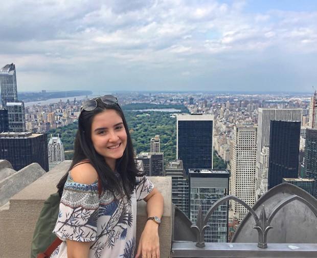 Laura Bonemer em NY (Foto: Reprodução/Instagram)