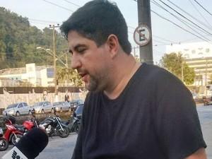 Tio da vítima deixou mensagem de alerta (Foto: Luna Oliva / G1)