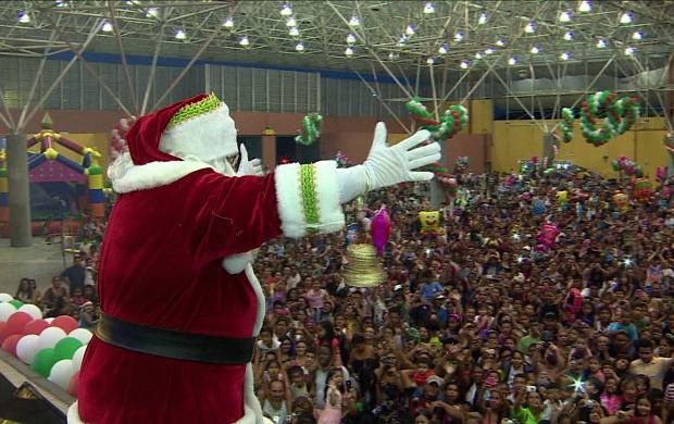 Chegada do Papai Noel será neste domingo (9) (Foto: Divulgação)