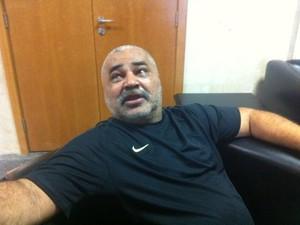 Presidente da cooperativa de vans Rio da Prata, César Moraes Gouveia (Foto: Carolina Lauriano/G1)