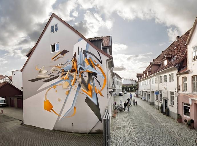 Graffiti 3D (Foto: Divulgação / TV Gazeta ES)