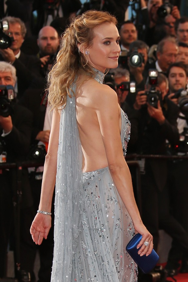 Diane Kruger na Premiere de 'The Sea Of Trees', no 68º Festival de Cinema de Cannes  (Foto: Getty Images)