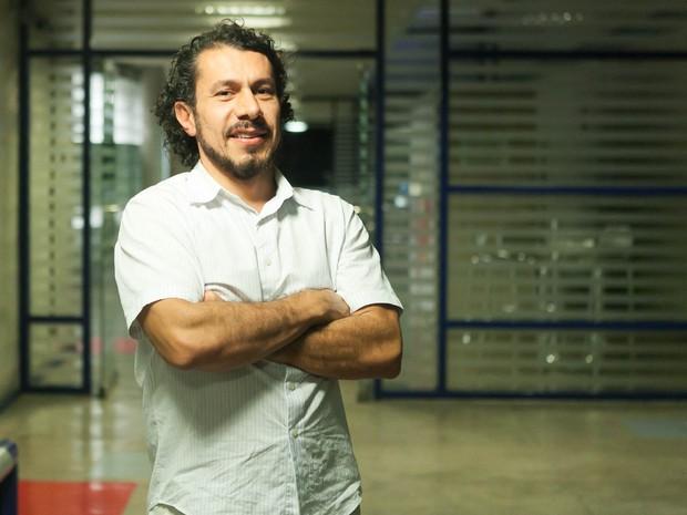 Rômulo Neves após ser eliminado do BBB 17 (Foto: barro)