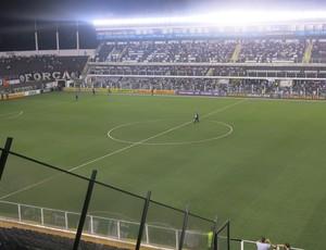Vila Belmiro Santos x Coritiba (Foto: Bruno Giufrida/GloboEsporte.com)