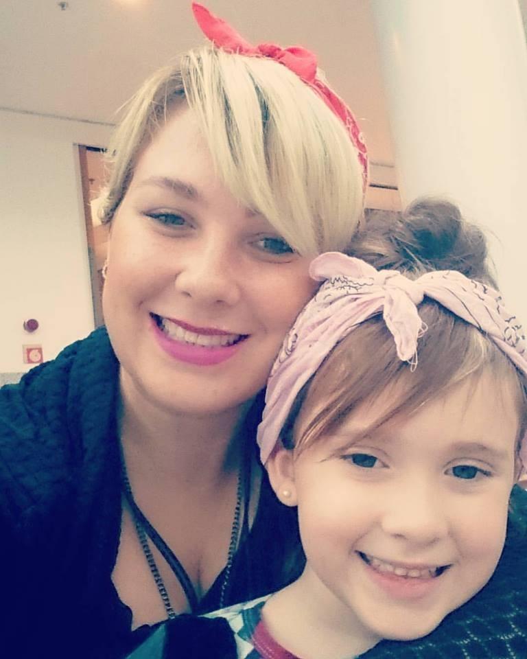 Ayla e Catarina (Foto: Arquivo pessoal)