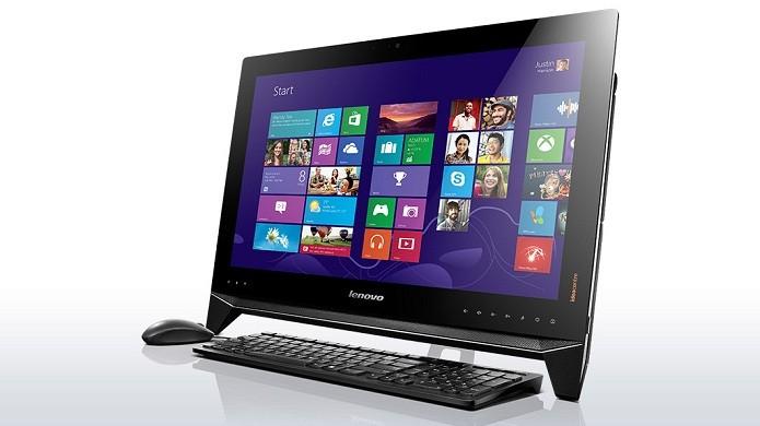 Modelo da Lenovo possui tela touchscreen (Foto: Divulgação/Lenovo)