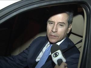 GNews - STF determina prisão de ex-senador Luiz Estevão (Foto: Reprodução Globo News)