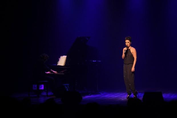 Alessandra Maestrini em seu show (Foto: Thyago Andrade/Brazil News)