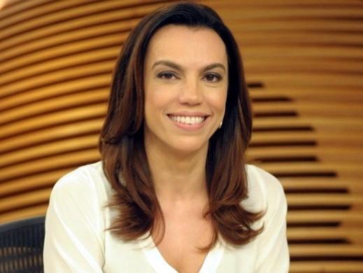 Ana Paula Araújo acorda às 5h para apresentar o Bom dia Brasil e não toma mais café da manhã com a filha  (Foto: Reprodução)